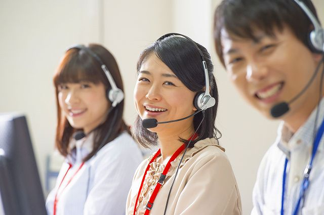 【2020年1月6日スタート】コールセンターstaff*代理店サポート/高時給1200円♪
